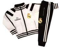 """Детски анцуг """"Реал Мадрид"""" - Бял (от 62 до 170см.)"""